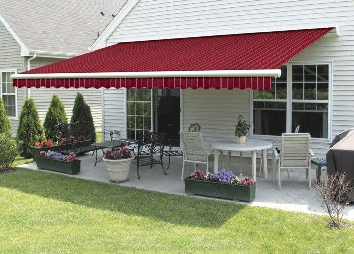 Sonnenschutz Sonnensegel Markise Gartenmöbel Terrasse