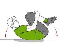 Un cirujano reveló algunos ejercicios que pueden curar tu columna antes de que sea demasiado tarde