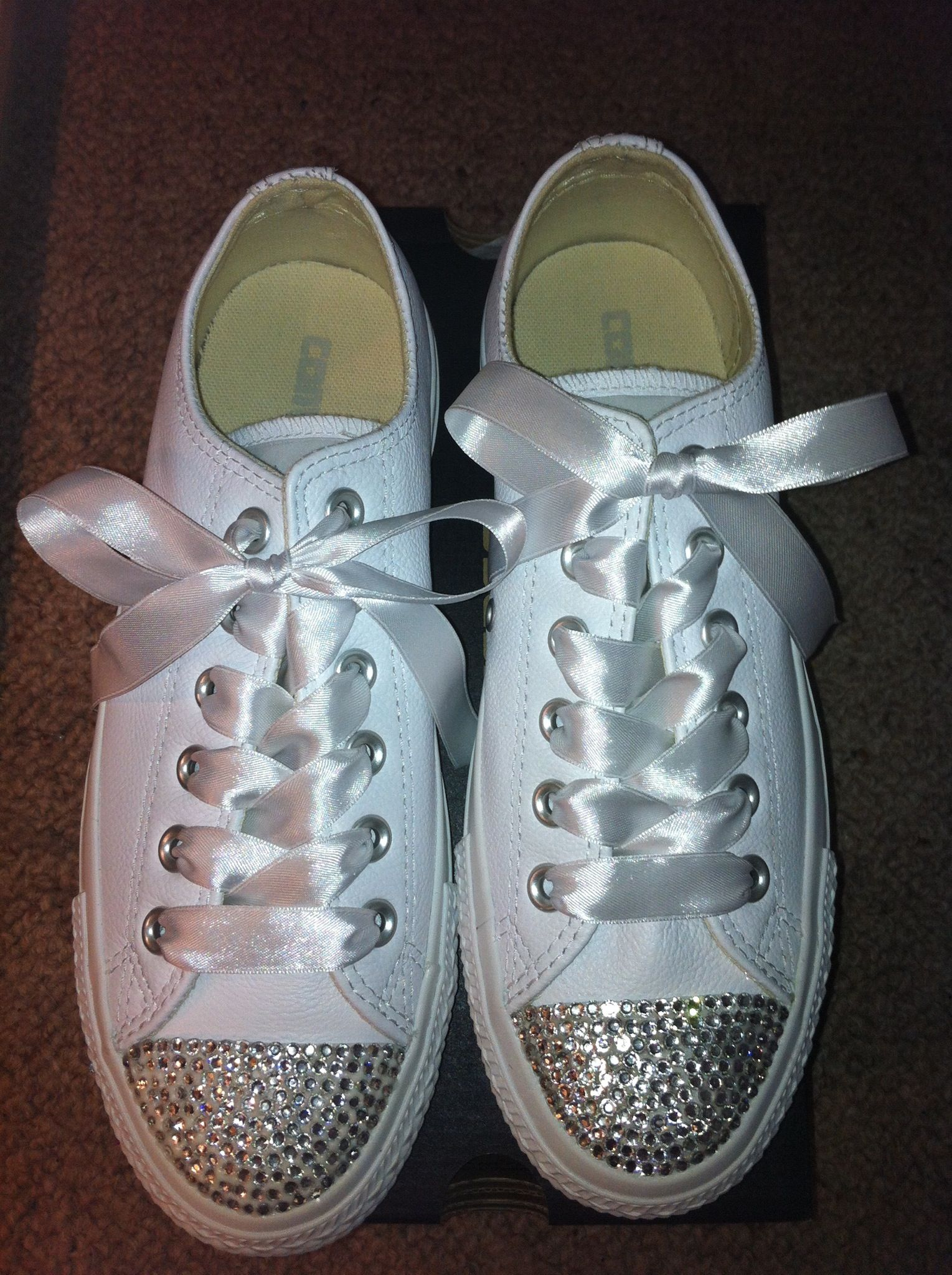New Crystallised Converse. Email SRCrystalBoutique gmail.com for further  info xox 679dc03516