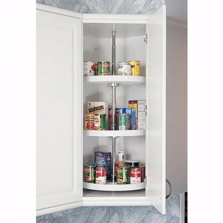 full circle 3 shelf corner lazy susans rev a shelf 6073 series 20 diameter rev a shelf on kitchen organization lazy susan cabinet id=41360