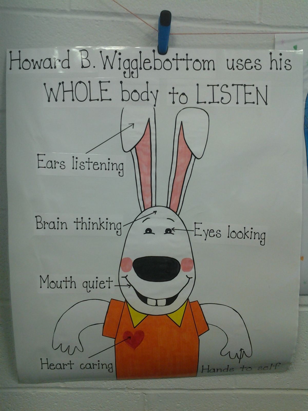 Learning To Listen With Howard B Wigglebottom Poster