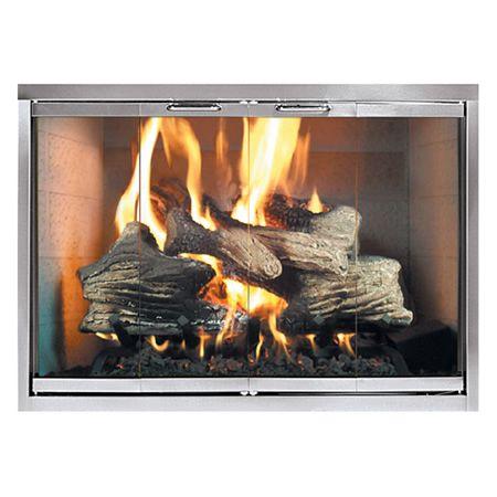 Classic Fireplace Glass Door K Copeland Pinterest Fireplace