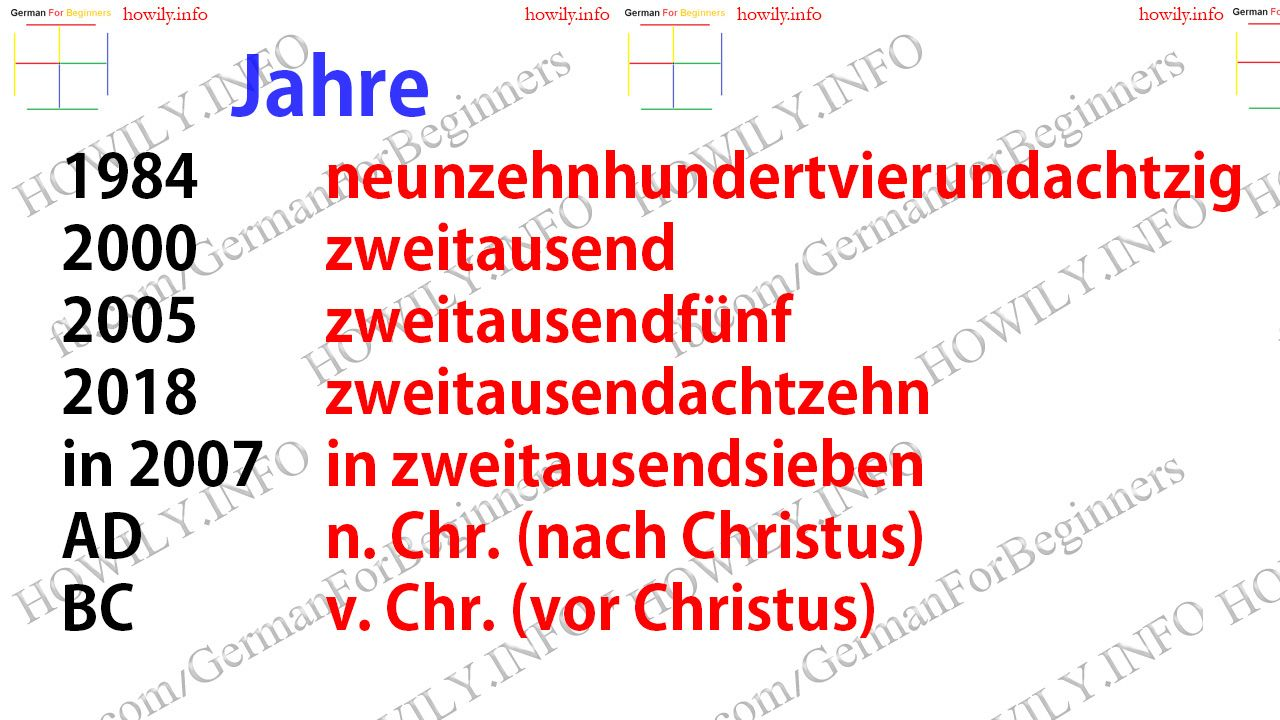 how to learn german language through english