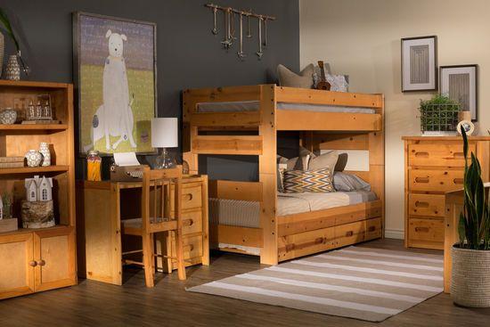 Wrangler Bunk Bed By Trendwood Bunk Beds Twin Bunk Beds