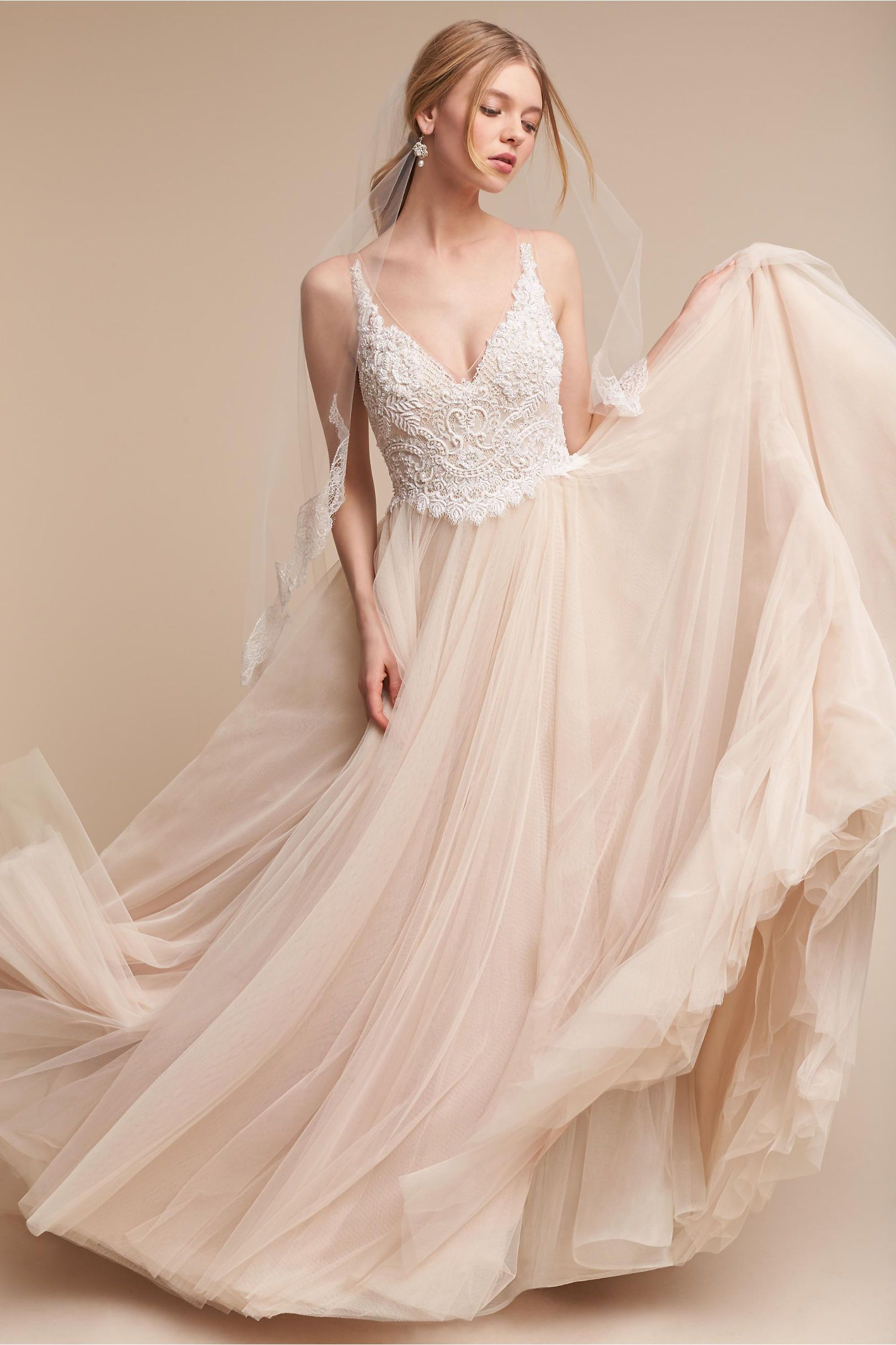 e13a5298be1d Chantal Gown | Products | Bhldn wedding dress, Bohemian wedding ...