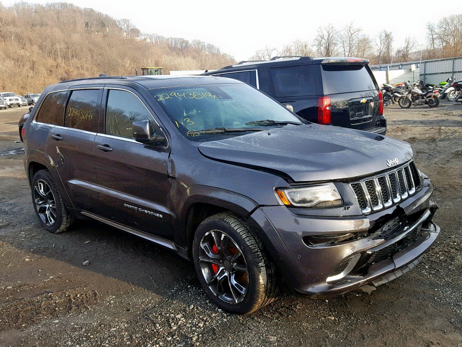 Salvage 2015 Jeep Grand Cherokee Srt 8 Jeep Grand Cherokee Srt