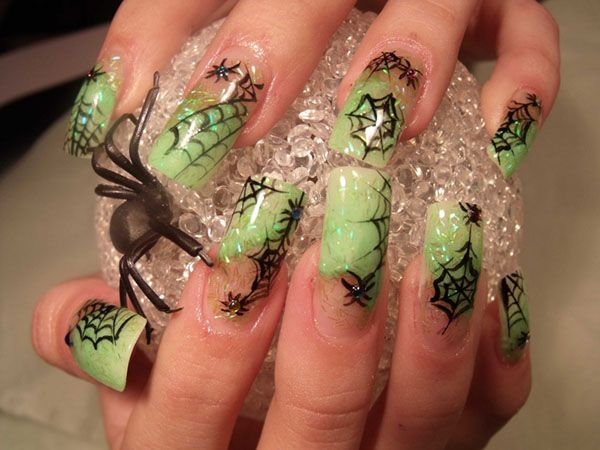 Easy diy halloween nail art designs home made halloween halloween easy diy halloween nail art designs naildesigns nailart halloweennails solutioingenieria Gallery