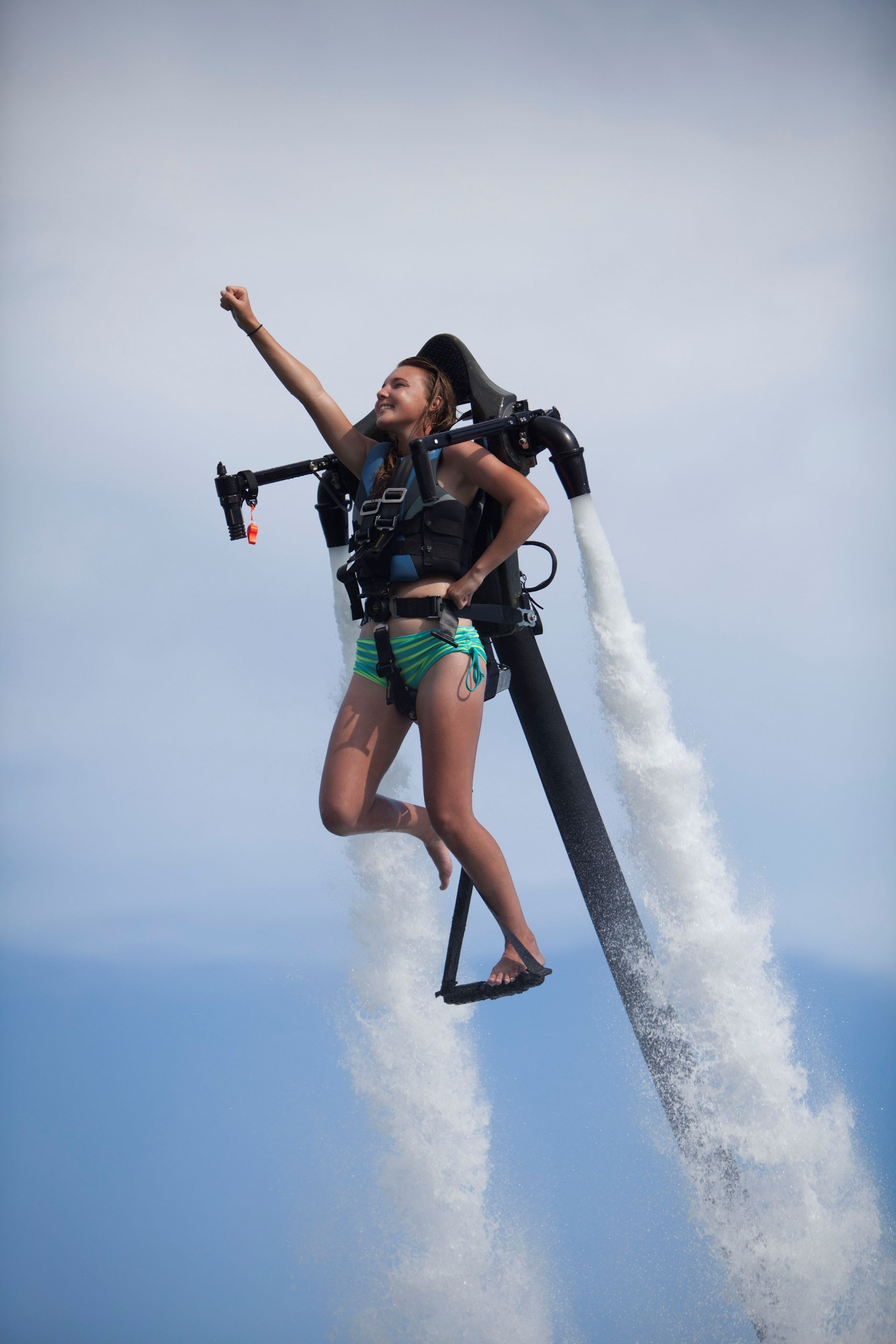 The Jetlev R200x Water Jetpack Also Available In Aruba Beach Close Outdoor Recreation Water Activities