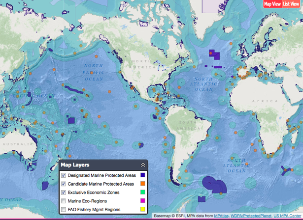 A Blueprint For Protecting The Worlds Oceans Ocean - List of all the oceans in the world