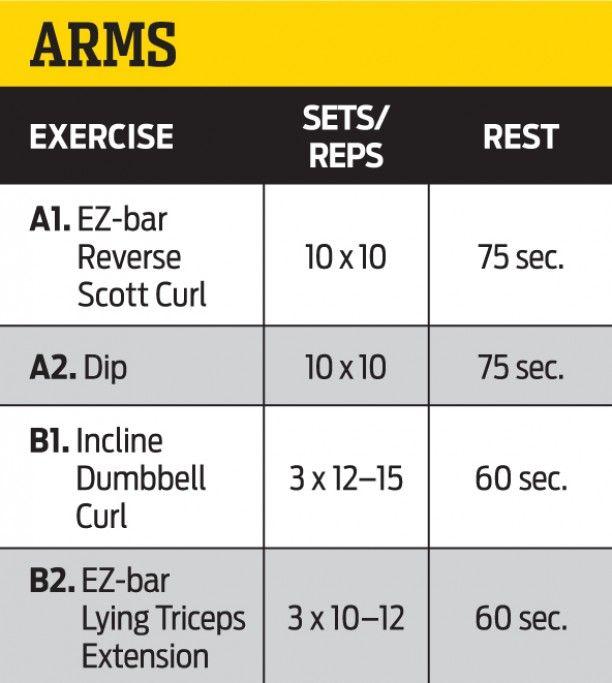 German Volume Training FLEX Online Workouts Pinterest - beast workout sheet