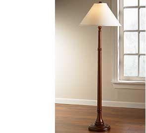 Turned-Wood Floor Lamp | lamps | Pinterest | Turned wood, Floor lamp ...