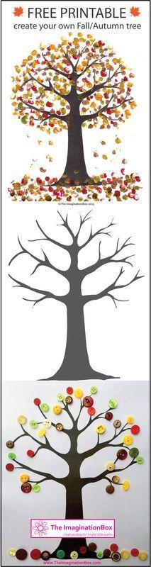 Herbstbaum selber gestalten