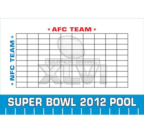 2020 Super Bowl LIV Theme Pool Board