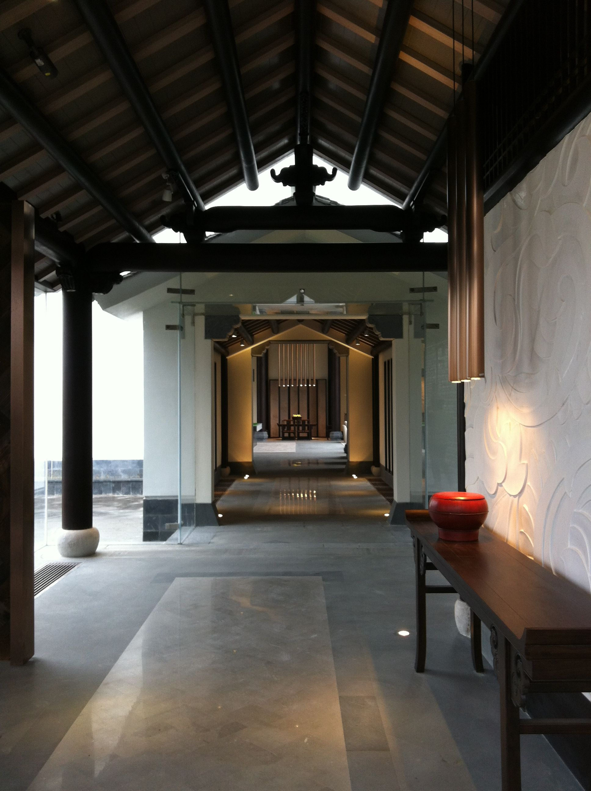 Banyan Tree Resort Residence In Huangshan China Asian Interior DesignAsian DesignChinese InteriorTropical ArchitectureOriental