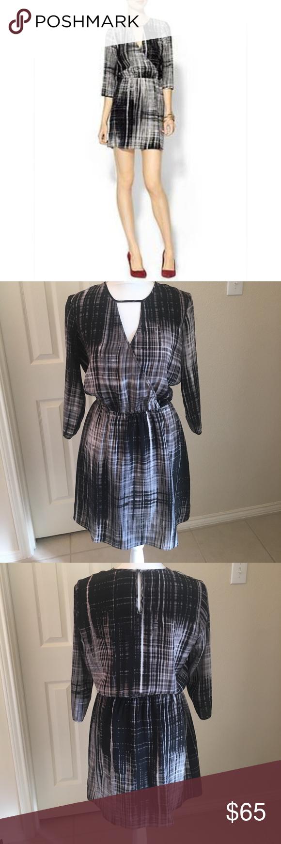 Parker silk long sleeve wrap dress wrap dresses silk dress and