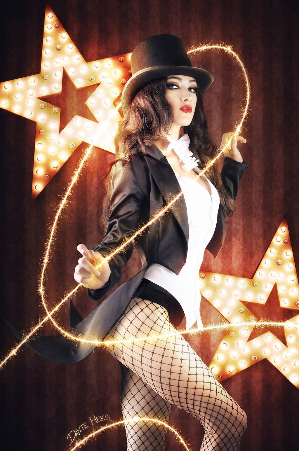 Zatanna Zatara from injustice DC comics cosplay for