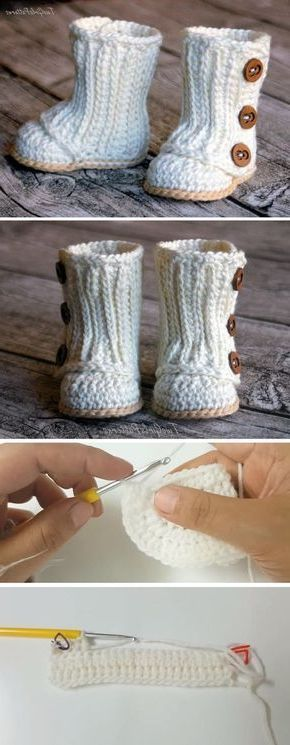 Photo of Baby shoes crochet pattern and 23 lovely crochet patterns – home decorating More