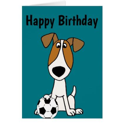 Funny Jack Russell Terrier Playing Soccer Pinterest