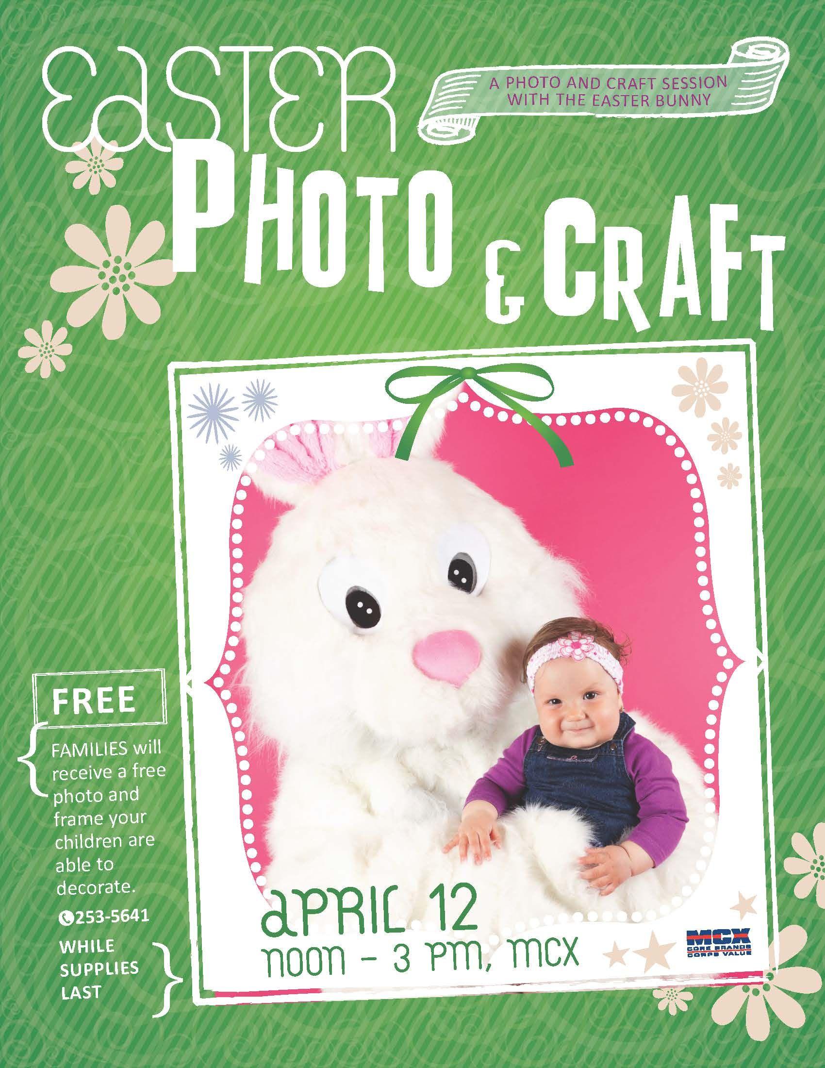 Easter Photo & Craft Event | MCCS Iwakuni Events | Photo