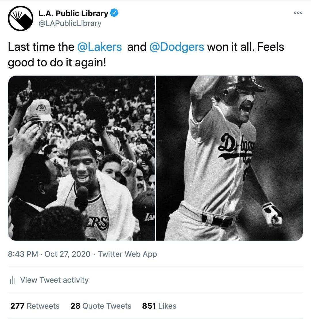 Los Angeles Public Library S Instagram Post Take It In In 2020 Public Library Instagram Instagram Posts