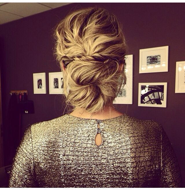 Sensational Loose Buns Low Loose Buns And Buns On Pinterest Hairstyles For Women Draintrainus