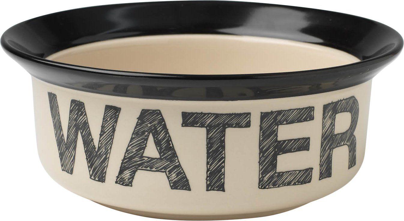 PetRageous Designs Pooch Basics Water Pet Bowl, 4 cup