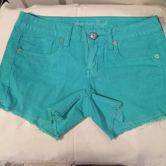 Turquoise shorts Turquoise shorts with a little stretch American Eagle Outfitters Other