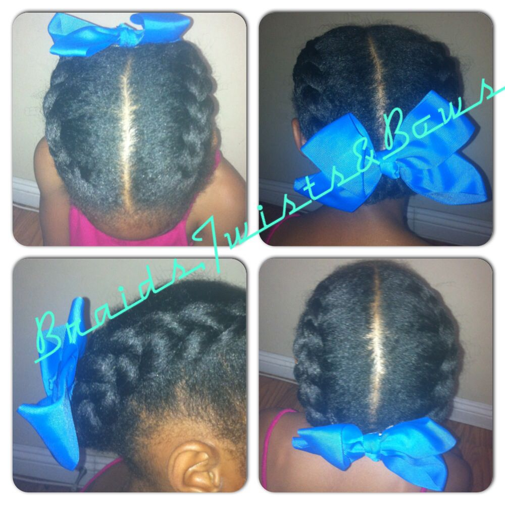 Quick du classic. Braids,twists&bows
