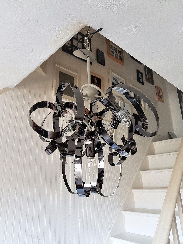 industrial pendant light modern ceiling lighting fixture 5 metal