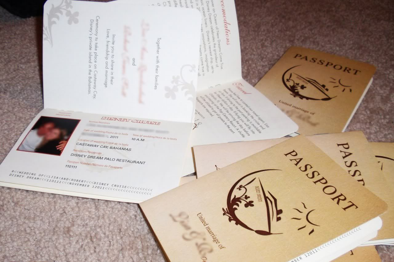 Disney Cruise Wedding Invitations from Uniquely Inviting | Magical ...