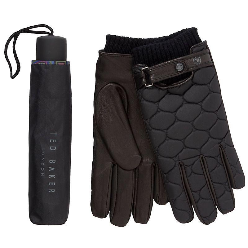 Ted Baker Gloves and Umbrella Set