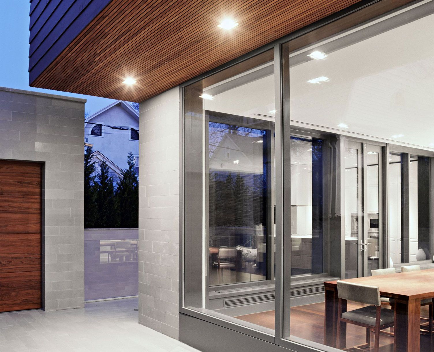 House wooden window design  bayside house by grzywinski pons   architecture u design