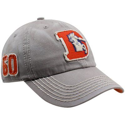 ... cheap size xxl 47 brand denver broncos gray dreadnought throwback  franchise fitted hat b6b12 170f9 1e285f62f
