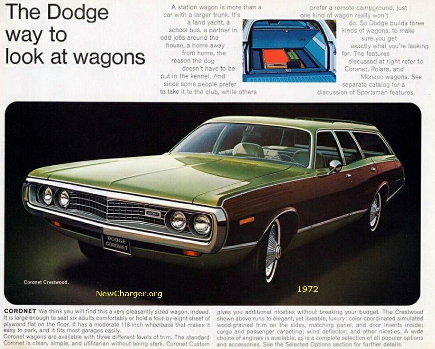 1972 Dodge Challenger   Dodge Coronet- 1974 specs Dodge Monaco- 1970-1971 specs Dodge Coronet ...