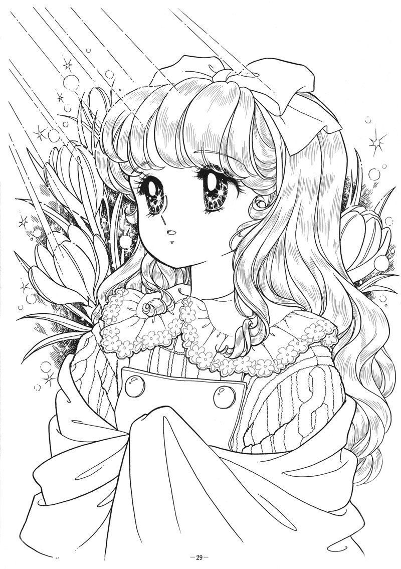 Beautiful Anime Girls Desenhos Pra Colorir Coisas Para Colorir Desenhos Para Colorir