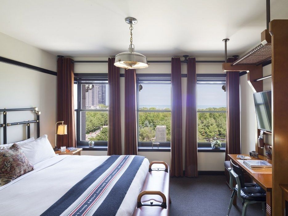 How a Historic Building Became Chicago's Hottest New Hotel