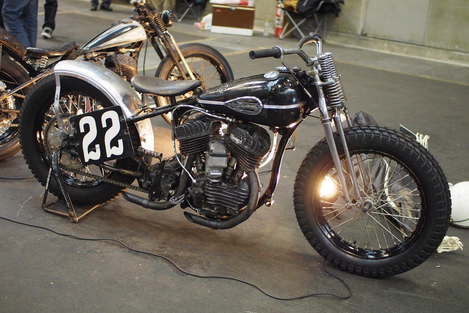 Harley-Davidson WL750 | Morris magneto | Springer replica