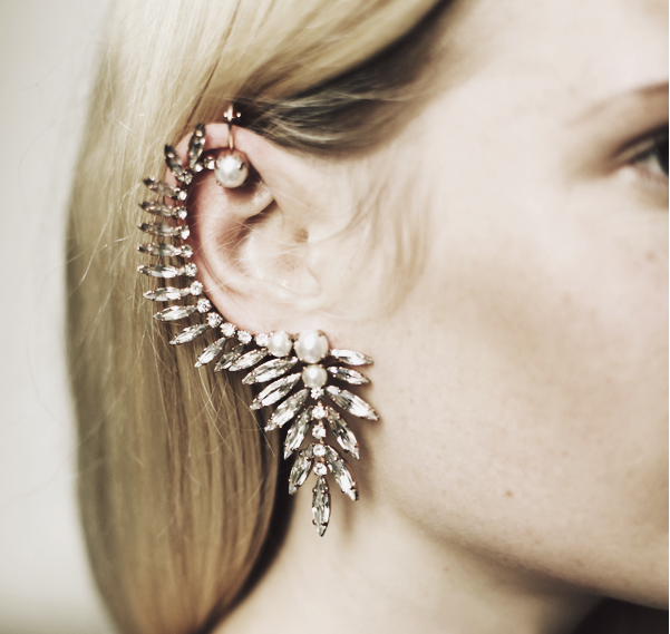 Clip Earrings Straightforward European 2018 Simple Punk Double Simulated Pearls No Pierced Ear Bone Cuff Clip Earrings For Women Wedding Bridal Jewelry Gift High Safety