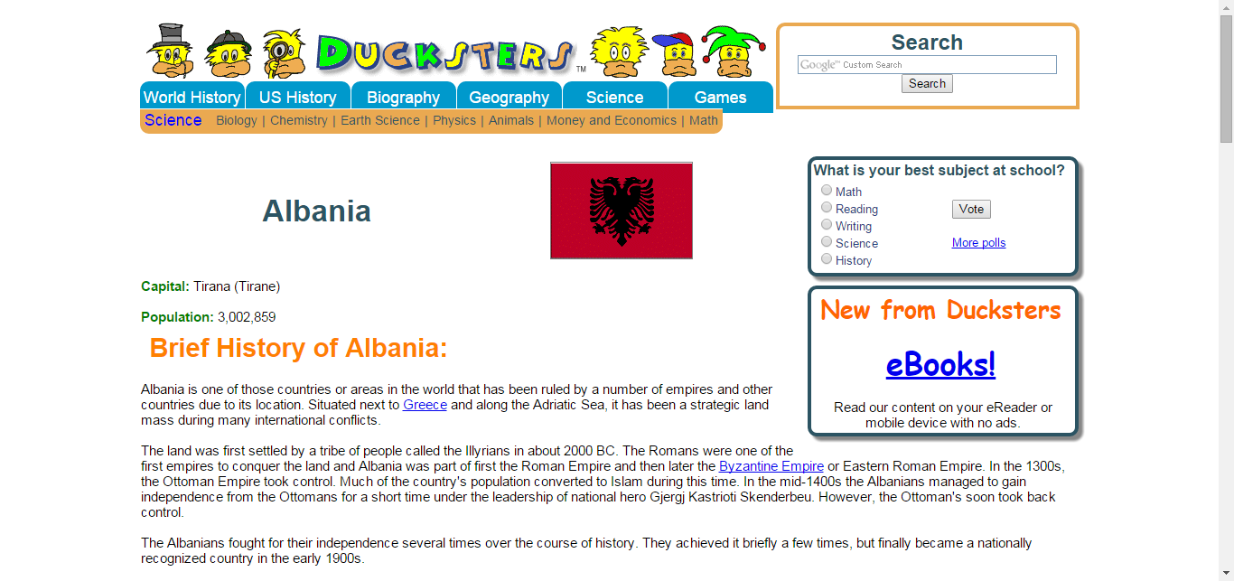 Geography for Kids: Albania | geography | Pinterest | Albania ...