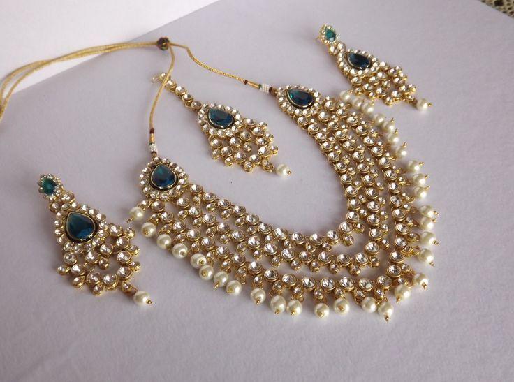 Buy Kundan Jewellery Set Online in India at cooliyo : coolest ...