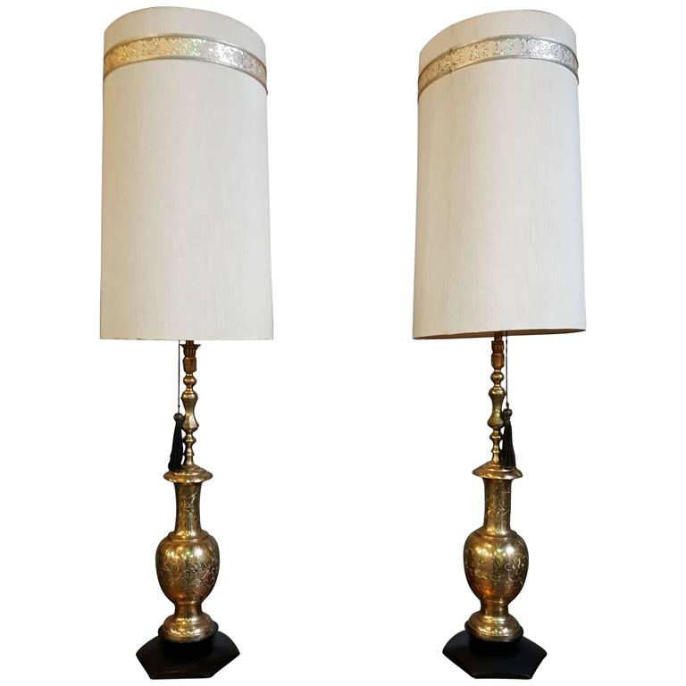 Large scale moroccan style brass table lamps brass table lamps brass table lamps mozeypictures Choice Image