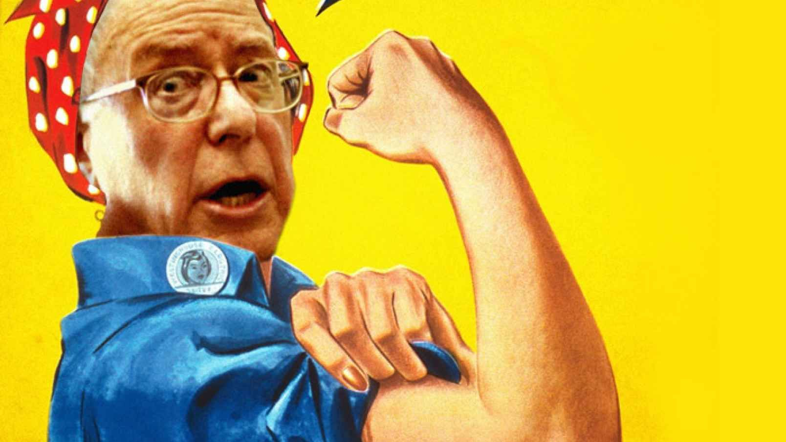 Class Warrior Bernie Sanders To Get Awards In Beverly Hills Rosie The Riveter Feminist Icons Pittsburgh Artists