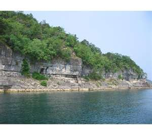 Lake Norfork jumped off these cliffs many a time growing up