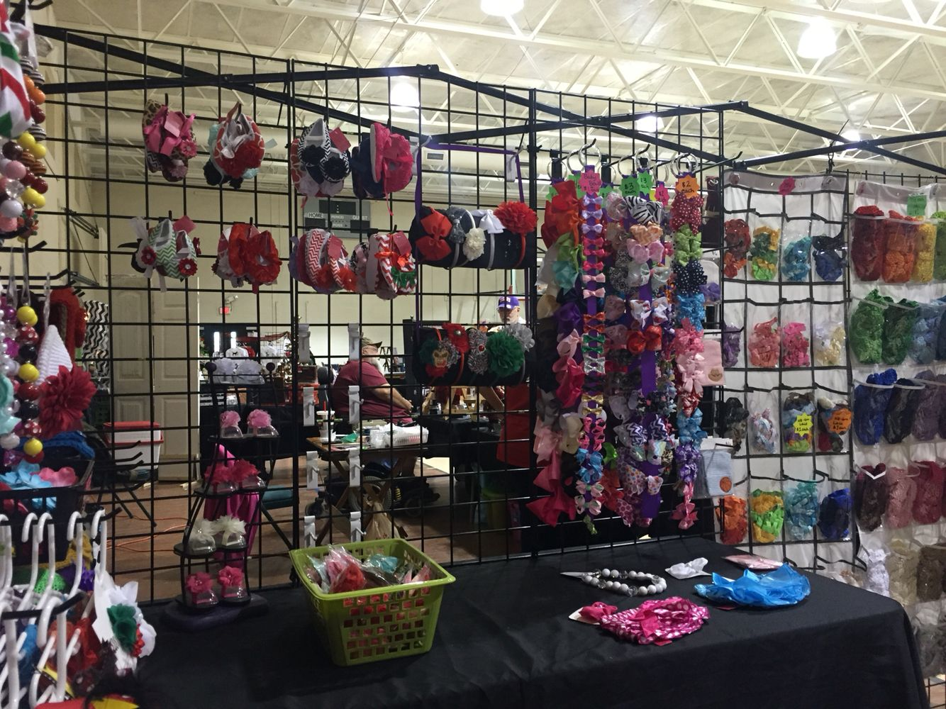 Vendor Booth Craft Fair Holiday Bazaar Set Up Idea Display