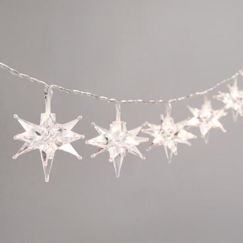Starburst Micro LED Battery Operated String Lights Battery