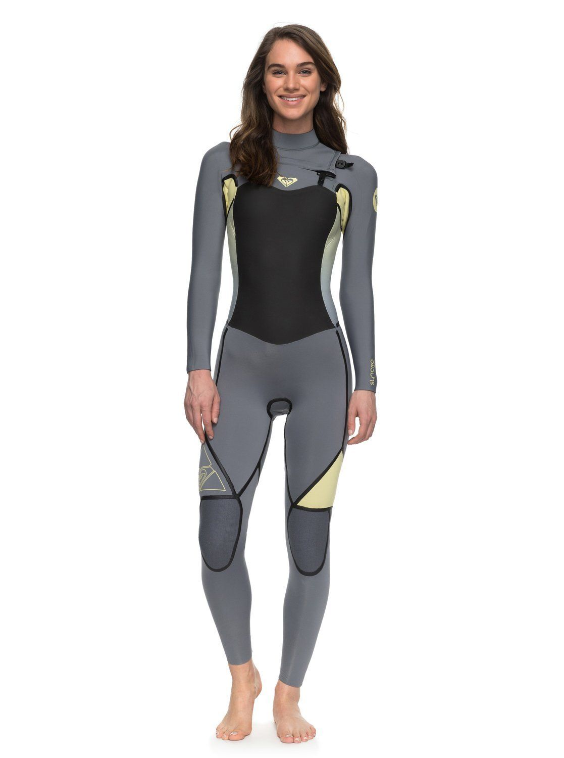 fb77e5c2be Roxy Womens Roxy Syncro 3 2Mm - Chest Zip Full Wetsuit - Women - 12 ...