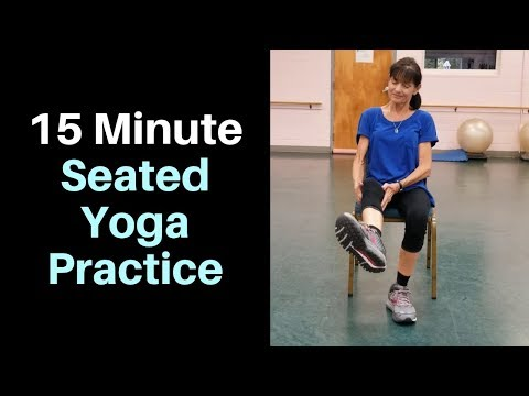 15 minute seated yoga practice  youtube  yoga practice