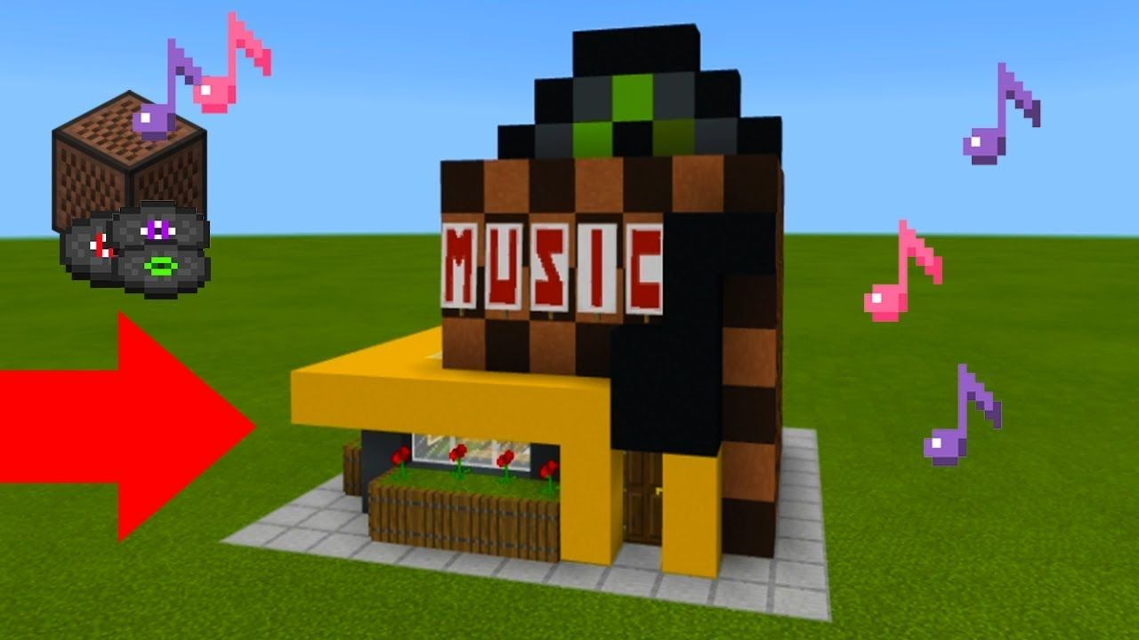 Minecraft Tutorial: How To Make A Music Store