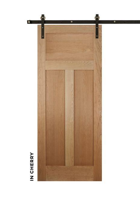 Shaker Style High T Panel Sliding Door Barn Doors Sliding Modern Sliding Barn Door Sliding Doors Interior