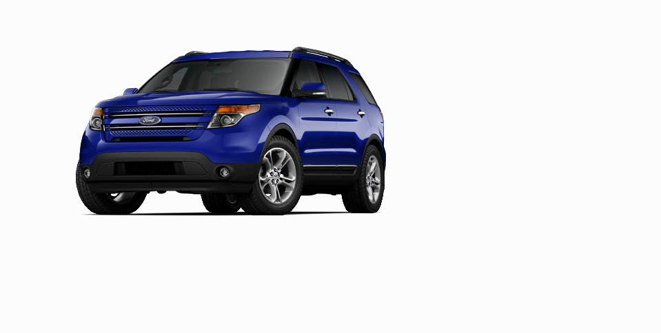 2014 Ford Explorer Deep Impact Blue ) Ford explorer